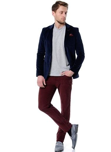 Beymen Studio Beymen Studio Lacivert  Klasik Pantolon Kiremit